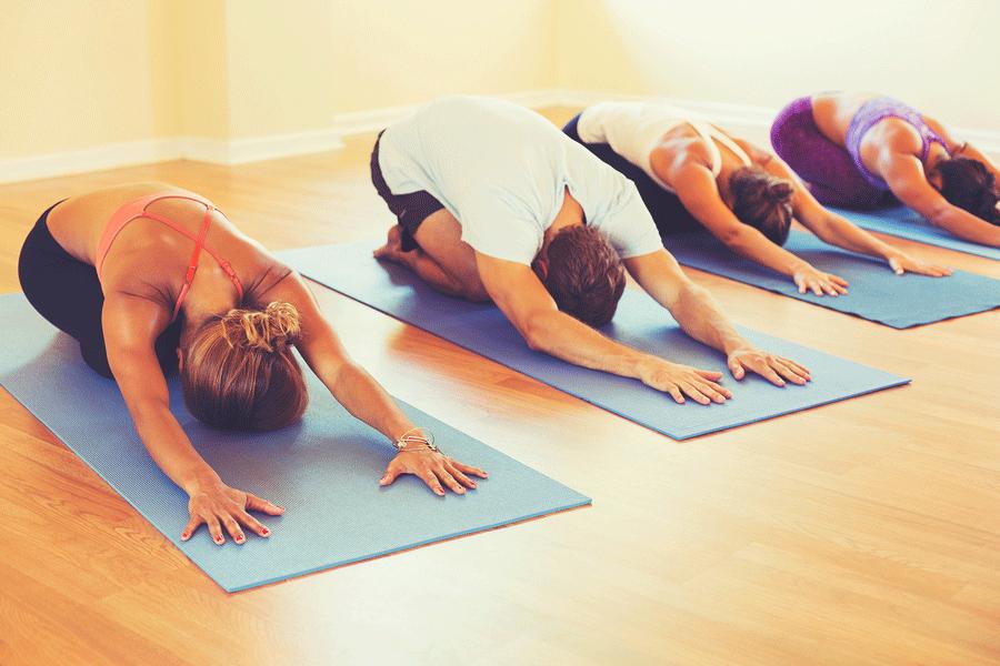 Четири Често срещани Йога пози