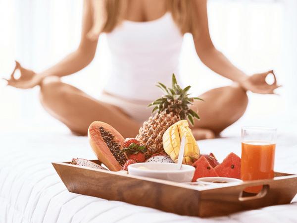 йога и хранене с йога глоу